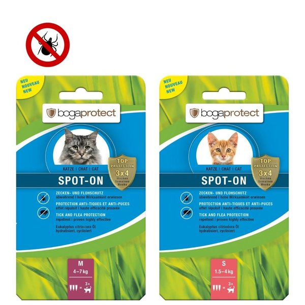 bogaprotect® SPOT-ON Katze